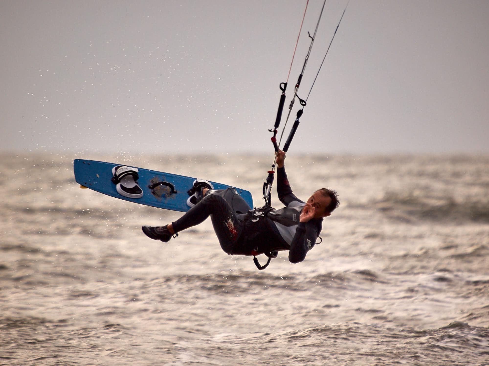 Patrick Beuzit, Maitres du vent, Sport, Kitesurf