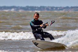 Didier Papin, Maitres du vent, Sport, Kitesurf