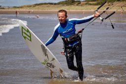 Thierry Le Floc'h, Maitres du vent, Sport, Kitesurf