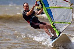 Gilbert Leguern, Maitres du vent, Sport, Windsurf