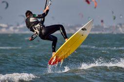 Sylvain Caron, Maitres du vent, Sport, Kitesurf