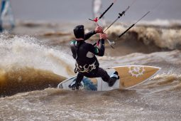 Maitres du vent, Sylvain Caron, Sport, Kitesurf